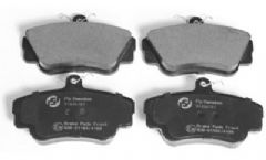 Volvo 400, 440, 460, 480 (89-) Front Brake Pads (Models with Solid Discs)